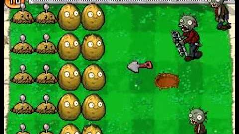 Plants vs Zombies DS BOMB all togheter!!!!!!!!!!!!!!!!!!!!!!!!!!