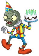 Zombie jester birthday