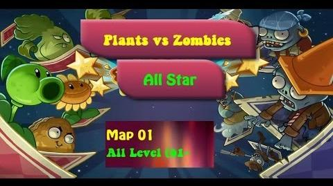 American Suburbs All Level Plants vs Zombies All Star Walkthrough
