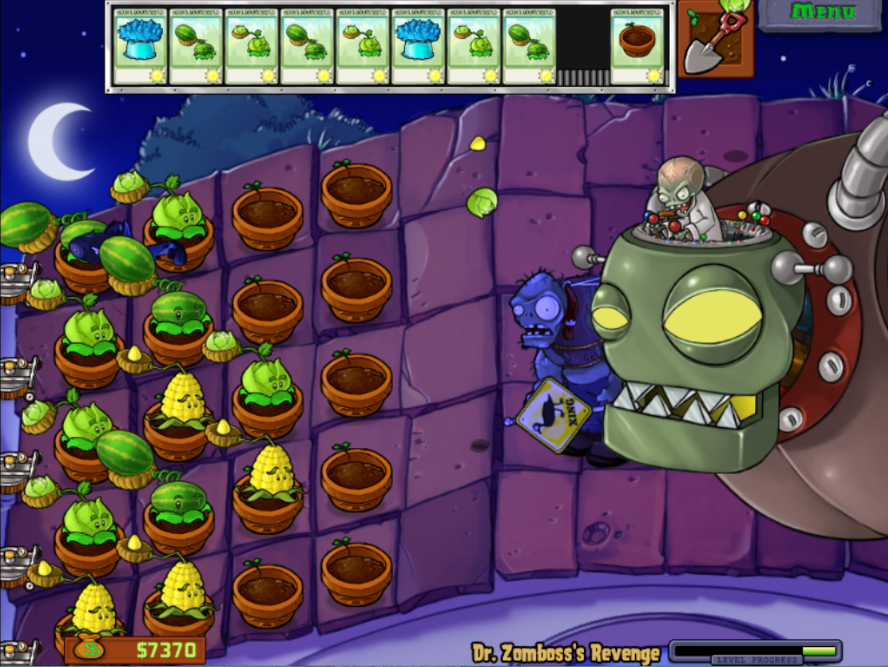 Dr Zomboss S Revenge Plants Vs Zombies Wiki Fandom