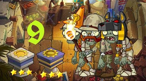 PvZ Online - Adventure Mode - Egyptian Market 9