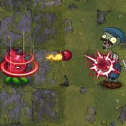Rotten Red's Plant Food Effect