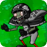Giga-football zombie icon