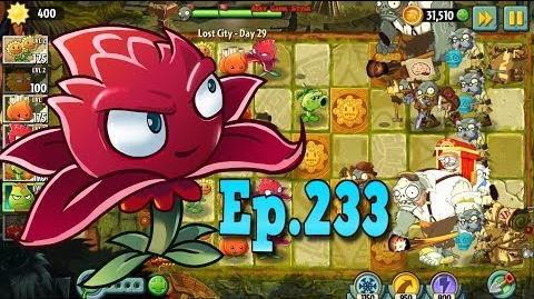 Plants vs. Zombies 2 A.K.E.E. and Red Stinger - Lost City Day 29 (Ep