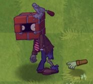 Poisoned Brickhead Zombie