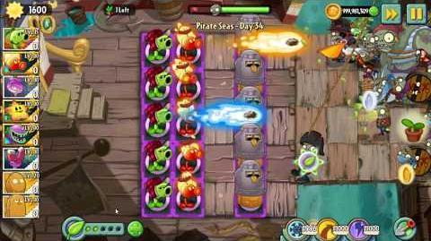 Primal Peashooter vs Fire Peashooter - Plants vs Zombies 2