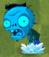 Frozen Big Brainz Flag Zombie