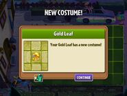 Getting Gold Leaf's Third Costume