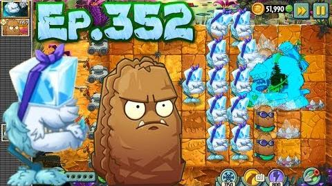 Plants vs. Zombies 2 - Cold Snapdragon, Primal Wall-nut - Jurassic Marsh Day 19 (Ep