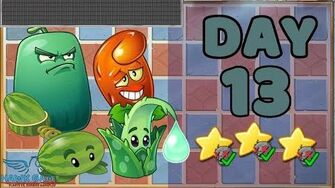 Plants vs Zombies 2 China - Renaissance Age Day & Night 13