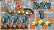Plants vs Zombies 2 China - Renaissance Age Day 1