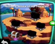 Attack of the Tentacles! map