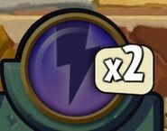 Disabled Power Zap Icon
