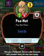 Pea-nut stats