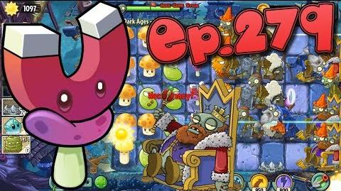 Plants vs. Zombies 2 New Zombie King - Dark Ages Night 16 (Ep