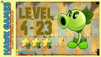 V1.0.81 Plants vs. Zombies All Stars - Ancient Egypt Level 4-23 4K 60FPS