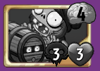 Grayed Out Barrel Roller Zombie