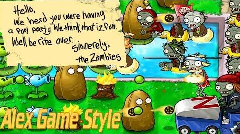 Plants vs. Zombies Adventure Found a Note level 3-9 Pool (Android Gameplay HD) Ep