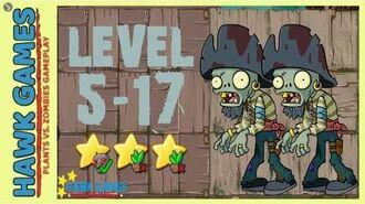 V1.0.81 Plants vs. Zombies All Stars - Pirate Seas Level 5-17 4K 60FPS-0