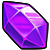 Equipment purple crystal