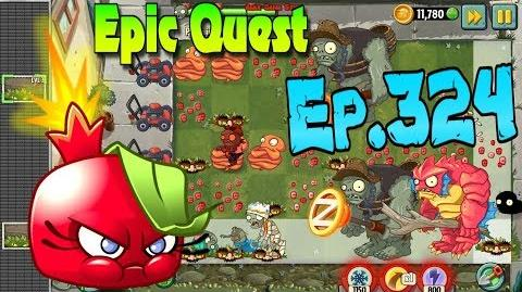 Plants vs. Zombies 2 BOMBEGRANATE - Epic Quest Premium Seeds (Ep