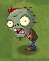 Shrunken Big Brainz Flag Zombie