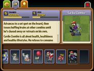 Cardio Zombie Almanac Entry