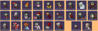 Plantas-contra-Zombies-Los-zombis