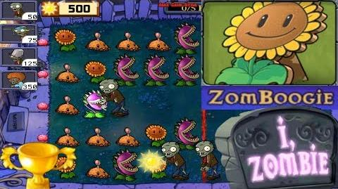 Plants vs. Zombies - Puzzle I, Zombie ZomBoogie (Android Gameplay HD) Ep