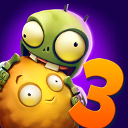 Plants vs. Zombies 3 Soft Launch Icon