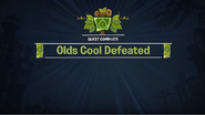 Olds Cool Defeated