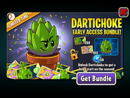 Dartichoke Early Access Bundle Ad