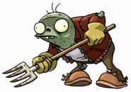 Farm zombie pitchfork - ArtofReanimPvZ2