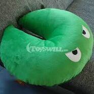 Lily pad plush toy