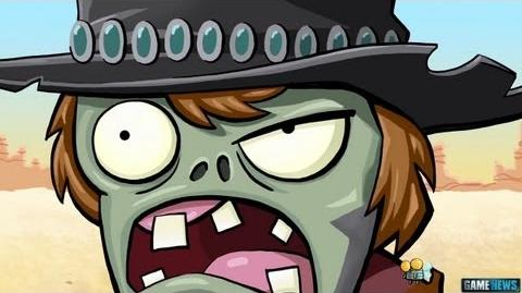 PLANTS VS ZOMBIES 2 Wild West Trailer