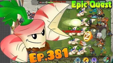 Plants vs. Zombies 2 - PARSNIP - Epic Quest Premium Seeds (Ep