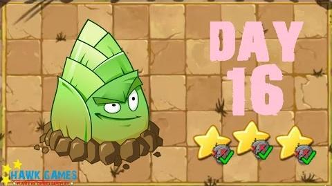 Plants vs. Zombies 2 China - Kongfu World Day 16《植物大战僵尸2》- 功夫世界 16天
