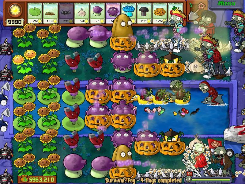 Survival Fog Plants Vs Zombies Wiki Fandom Powered By Wikia