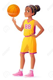 69810499-cute-young-african-ethnicity-young-basketball-player-girl-spinning-the-ball-on-her-finger-cartoon-ve