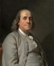 Benjamin Franklin by Joseph Duplessis 1778