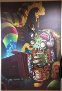 Gamer zombie