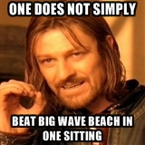 One does not beat bwb meme