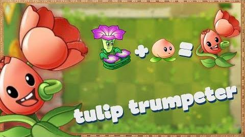 Plants vs zombies 2 Chinese - Tulip Trumpeter - New Plant!