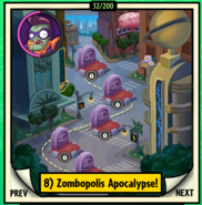 Zombopolis Apocalypse Locked Map