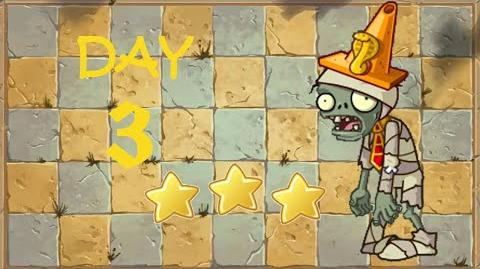 -Android- Plants vs. Zombies 2 Chinese - Ancient Egypt Day 3