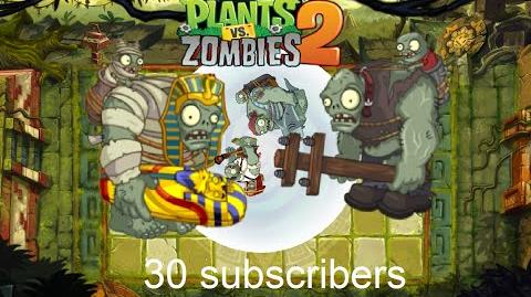 30 subscribers special - PvZ 2 All world Gargantuars