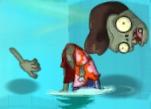 Doomed Pompadour Zombie