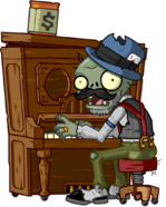 Pianist Zombie/Gallery | Plants vs  Zombies Wiki | FANDOM