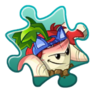 Parsnip Costume Puzzle Piece