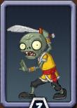 Swordsman Zombie Almanac Icon